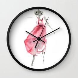 She's Dancing Wall Clock