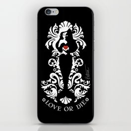 The Little Mermaid - Love Or Die iPhone Skin