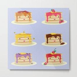 Pancakes lover Metal Print