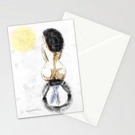 Nude Sunrise Stationery Cards