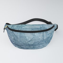 Ghost Ship Fanny Pack