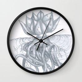 Lagoon Water Lily Wall Clock