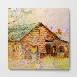 Abandoned Missouri House Metal Print