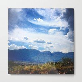 Desert Mountain Majesty Metal Print