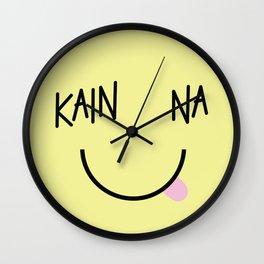 Kain Na Wall Clock