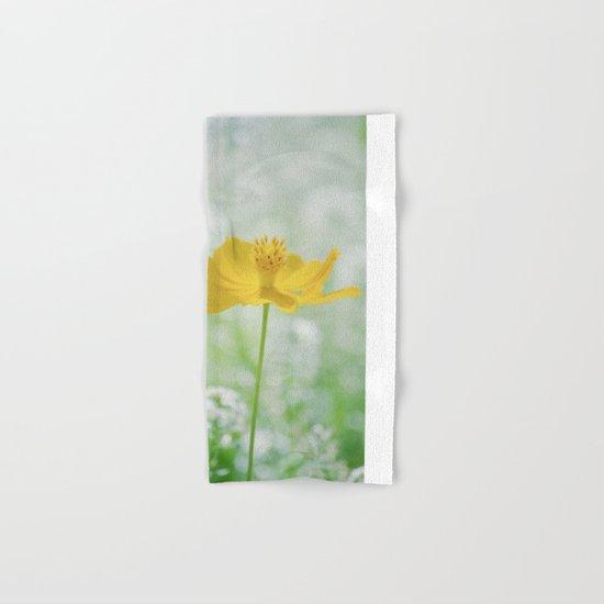 Yellow Bloom Hand & Bath Towel
