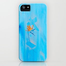Silver Linings For Birds Of Paradise iPhone Case