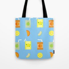Juice Pattern Tote Bag