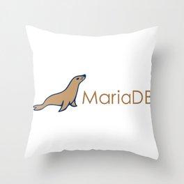 MariaDB (Maria db) Throw Pillow