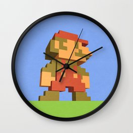 Mario NES nostalgia Wall Clock