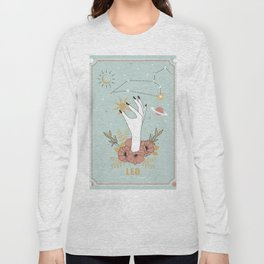Leo Zodiac Series Long Sleeve T-shirt