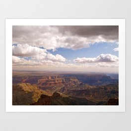 View from the North Rim Art Print