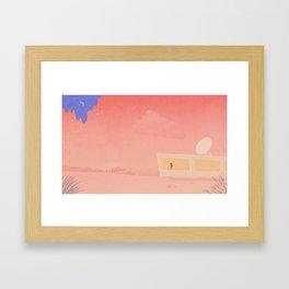 Wait for... Framed Art Print