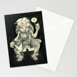 Sitting Heart Stationery Cards