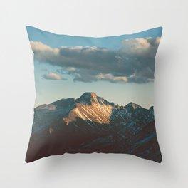 Catching the Sun Throw Pillow