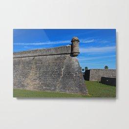 Castillo de San Marcos VI Metal Print