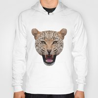 jaguar Hoodies featuring jaguar by fizziponi