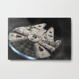 Flight of the Falcon Metal Print