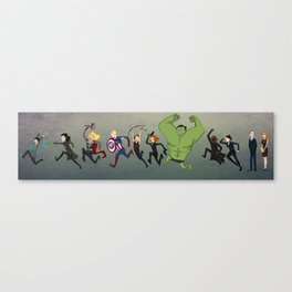 TheAvengers Chase Canvas Print