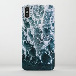 Minimalistic Veins in a Wave  - Seascape Photography iPhone Case