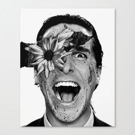 Psycho Flower Canvas Print