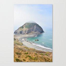 Beautiful view of the Oregon Coast. Canvas Print