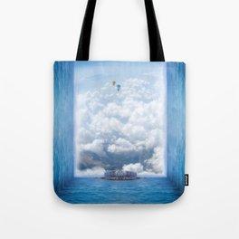 Sky Pier Tote Bag
