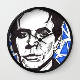 Walk on the Wild Side -- Lou Reed Wall Clock