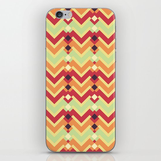 Fractal mountains - salad iPhone & iPod Skin