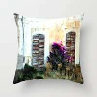 doors Throw Pillows featuring doors by  Agostino Lo Coco