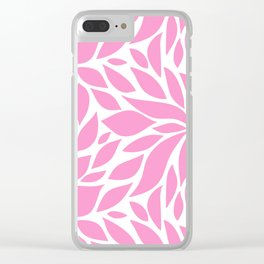 Bloom - Taffy Clear iPhone Case