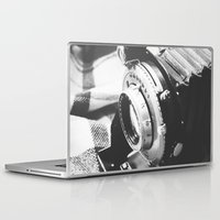 old school Laptop & iPad Skins featuring Old school  by Olivier P.