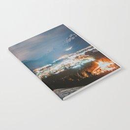 Banff at night Notebook