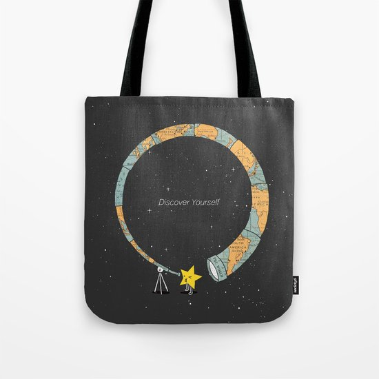 Discover yourself Tote Bag