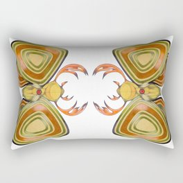 deer moth Rectangular Pillow