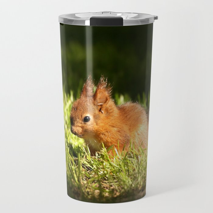 Cute Squirrel Cub #decor #society6 Travel Mug