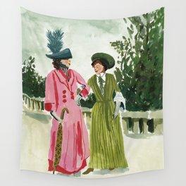 Fancy Ladies Wall Tapestry