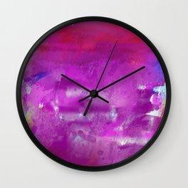 Purple paint! Wall Clock