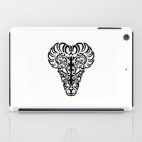 aries iPad Cases featuring Aries by Mario Sayavedra
