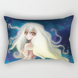 Mermaid and Jellyfish Rectangular Pillow