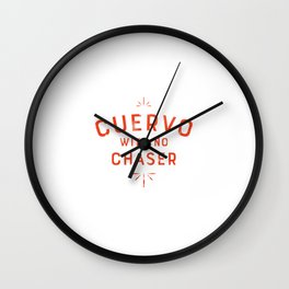 Cuervo Wall Clock