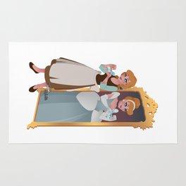 Cinderella - Peasant Servant Dress Rug