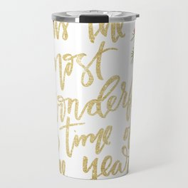 It's The Most Wonderful Time Travel Mug