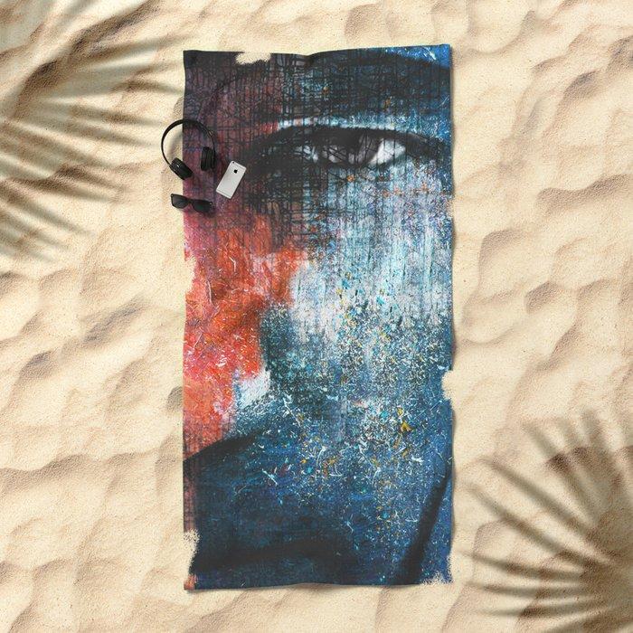 Magic People 3 Beach Towel