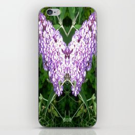 Buddleia Butterfly iPhone Skin
