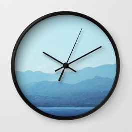 Jamaican Coast Wall Clock