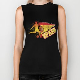 Football Worldcup Spain Spanish Spaniards Soccer Team Sports Footballer Rugby Gift Biker Tank