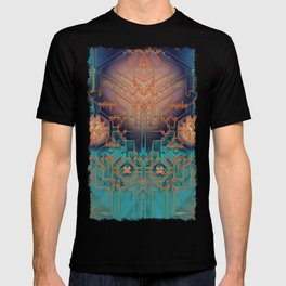 Ayahuasca - Geometric Design - Fractal - Manafold Art T-shirt