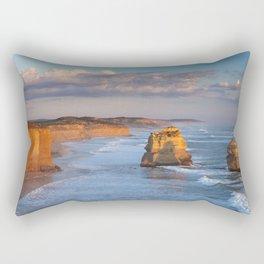 IV - Twelve Apostles on the Great Ocean Road, Australia at sunset Rectangular Pillow