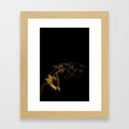 Moon 2 Framed Art Print